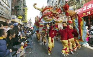 Dragon in Chinatown NYC Lunar New Year by Patrick Kwan (Used through a Creative Commons license)