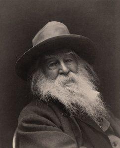 Walt Whitman, c. 1887