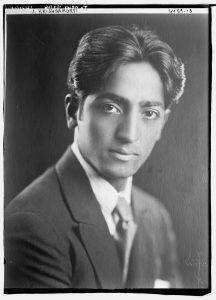 Jiddu Krishnamurti, 1926